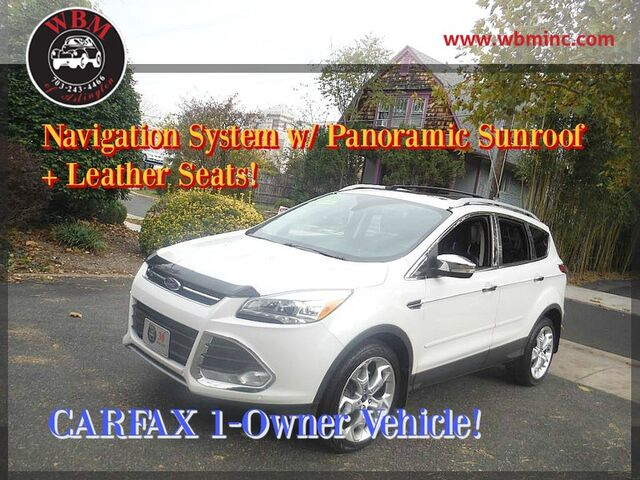 2013 Ford Escape Titanium Arlington VA