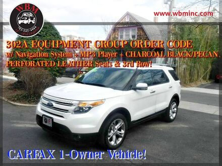 2013_Ford_Explorer_4WD Limited_ Arlington VA