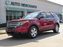 2013_Ford_Explorer_Base FWD CLOTH SEATS, BLUETOOTH CONNECTIVITY, STEERING WHEEL CONTROLS, 3RD ROW SEATING_ Plano TX