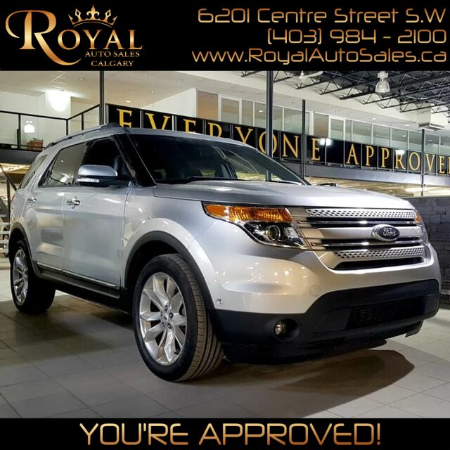 2013_Ford_Explorer_Limited_ Calgary AB