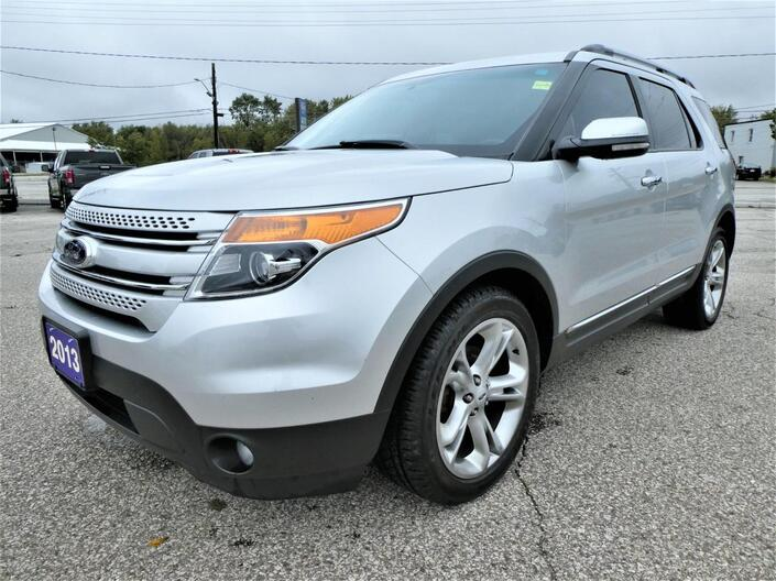 2013 Ford Explorer Limited Navigation Heated Seats Remote Start Essex ON