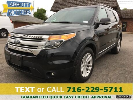 2013 Ford Explorer XLT 4WD w/3rd Row Seat Buffalo NY