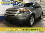 2013 Ford Explorer XLT 4WD w/Moonroof & Back-Up Camera