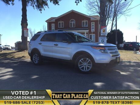 2013 Ford Explorer XLT$94/Wk4WD7PassHtd LthrSunroofBackup CAMSYNC London ON