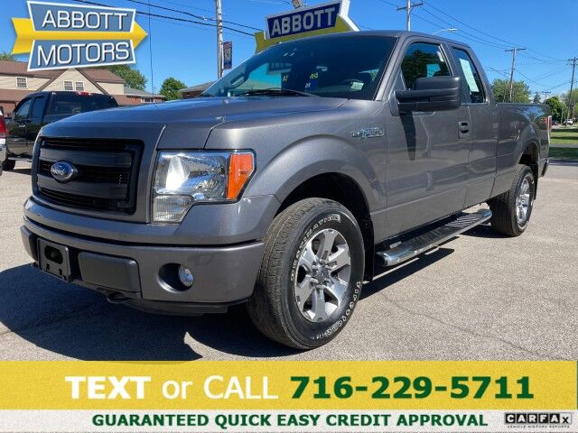 2013 Ford F-150 4WD SuperCab STX 5.0L 1-Owner Low Miles+ Buffalo NY