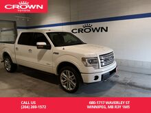 2013_Ford_F-150_4WD SuperCrew 145 Limited / Local / Great Condition / Fully Loaded / Top Model_ Winnipeg MB