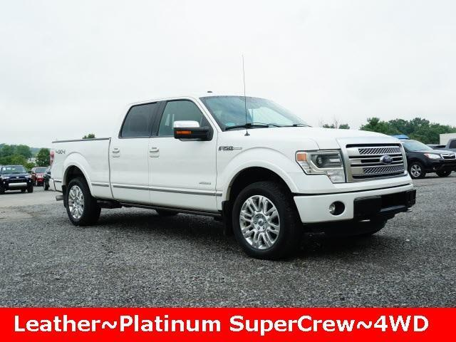 2013 Ford F-150 4WD SuperCrew 145 Platinum Cranberry Twp PA