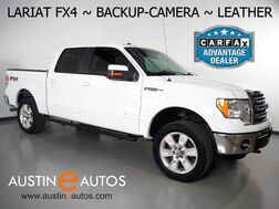 2013_Ford_F-150 4WD SuperCrew Lariat_*V6 ECOBOOST, FX4 OFF-ROAD PKG, BACKUP-CAMERA, TOUCH SCREEN, LEATHER, FRONT BUCKET CLIMATE SEATS, 20 INCH WHEELS, REMOTE START, BLUETOOTH PHONE & AUDIO_ Round Rock TX