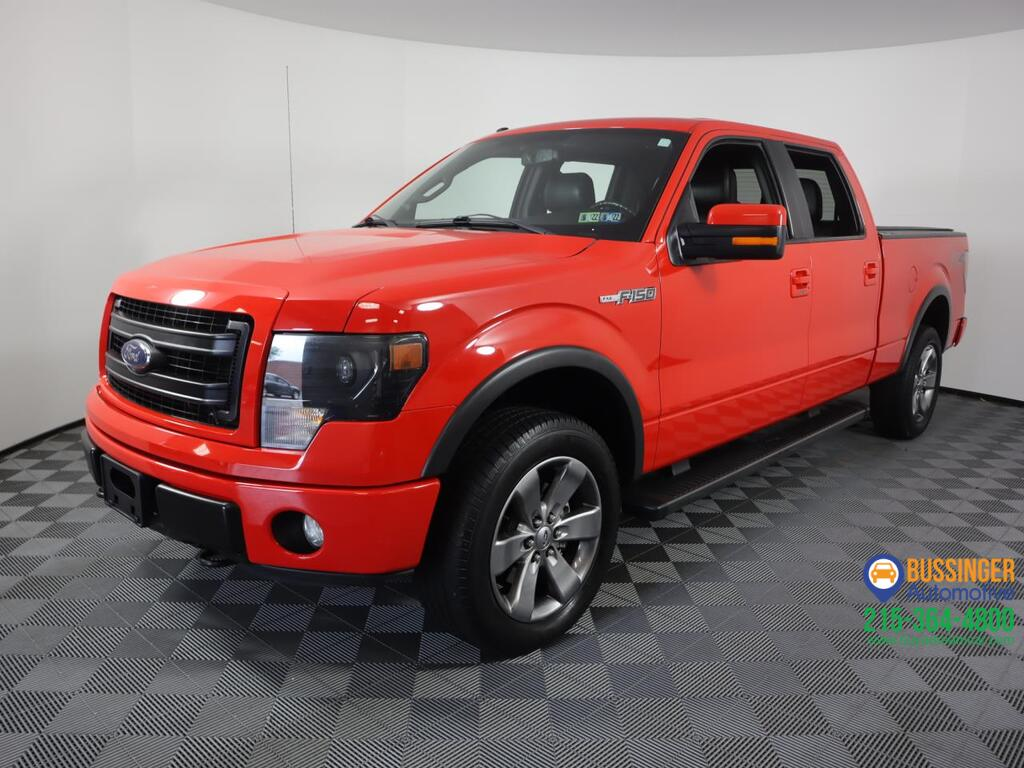 2013 Ford F-150 Crew Cab FX4 - 4x4 Feasterville PA