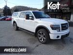 2013 Ford F-150 FX4 Heated Leather Seats, Tow Package, Back-up Camera, Sunroof, Canopy