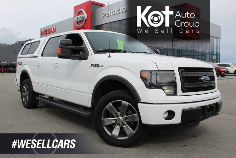 2013 Ford F-150 FX4, Heating and Cooling Front Seats, Sunroof Kelowna BC