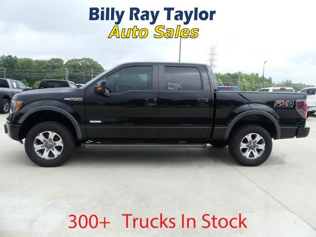 2013 Ford F-150 FX4 SuperCrew 5.5-ft. Bed 4WD Cullman AL