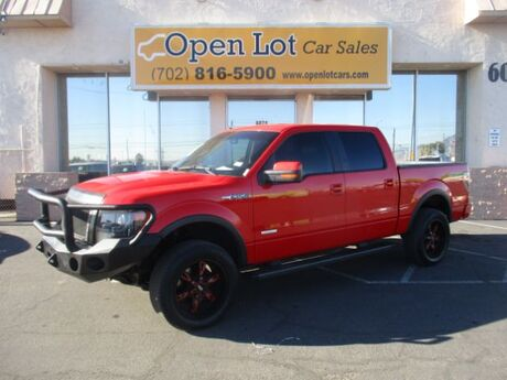 2013 Ford F-150 FX4 SuperCrew 5.5-ft. Bed 4WD Las Vegas NV