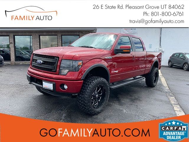 2013 Ford F-150 FX4 SuperCrew 6.5-ft. Bed 4WD Pleasant Grove UT