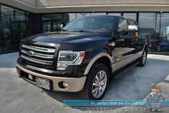 2013_Ford_F-150_King Ranch / Off-Road Pkg / 4X4 / 3.5L V6 EcoBoost / AutoStart / Heated & Cooled Leather Seats / Sony Speakers / Sunroof / Bluetooth / Back Up Camera / Tonneau Cover / Bed Liner / Tow Pkg / Only 77k Miles_ Anchorage AK