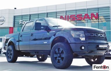 2013_Ford_F-150_Lariat 4WD - CREWCAB - LIFTED - LEATHER - LOCAL TRADE_ Ardmore OK