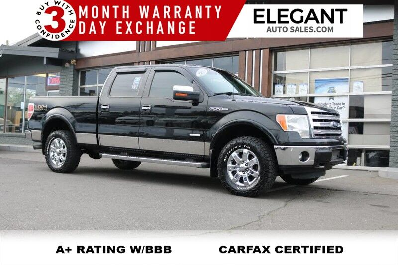 2017 Ford F 150 Lariat 4x4 Leather Ecoboost