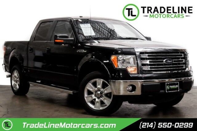 2013 Ford F-150 Lariat LEATHER, REAR VIEW CAMERA, COOLED/HEATED SEATS AND MUCH M CARROLLTON TX