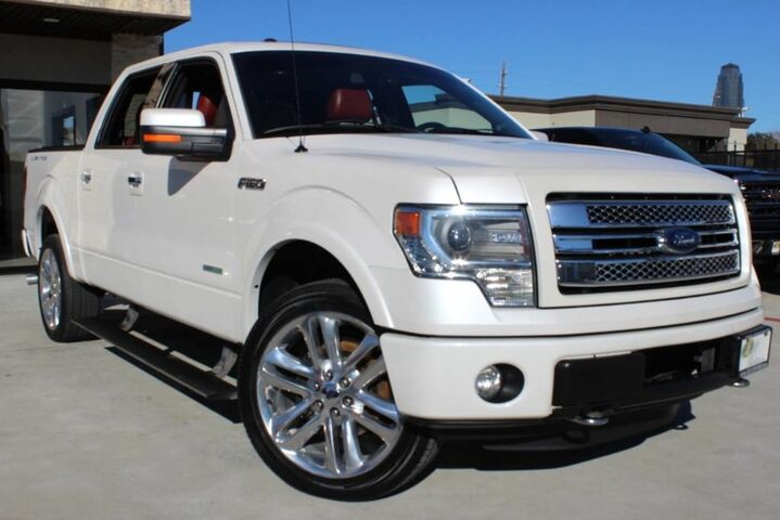 2013 Ford F-150 Limited 1 OWNER ROLL BACK BED COVER 4X4 NAVI ROOF Houston TX