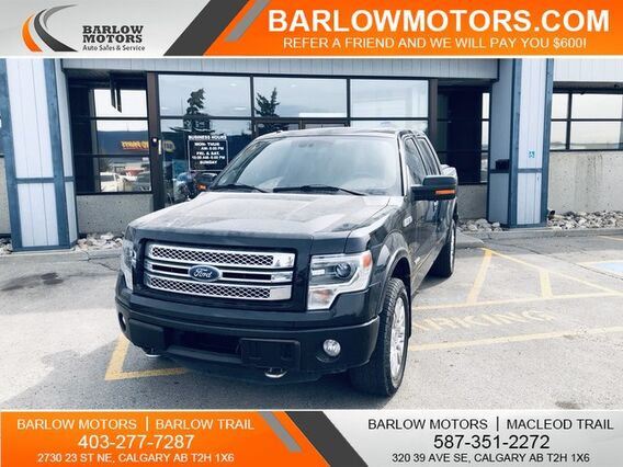 2013_Ford_F-150_Limited no accidents fully equipped_ Calgary AB