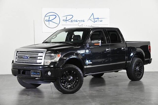 2013 Ford F-150 Platinum 4WD Moonroof Navigation Lifted Custom Whls The Colony TX
