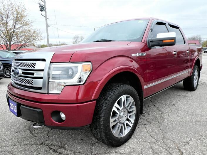 2013 Ford F-150 Platinum 5.0L | Cooled Seats | Navigation | Sunroof Essex ON