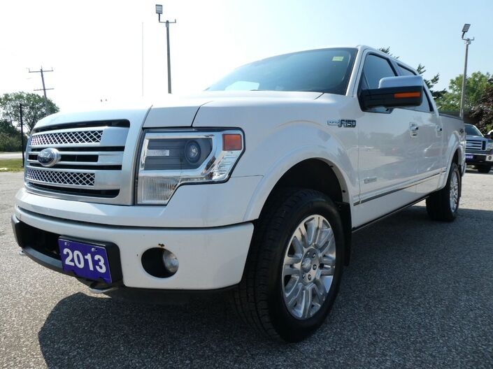 2013 Ford F-150 Platinum Cooled Seats Sunroof Remote Start Essex ON
