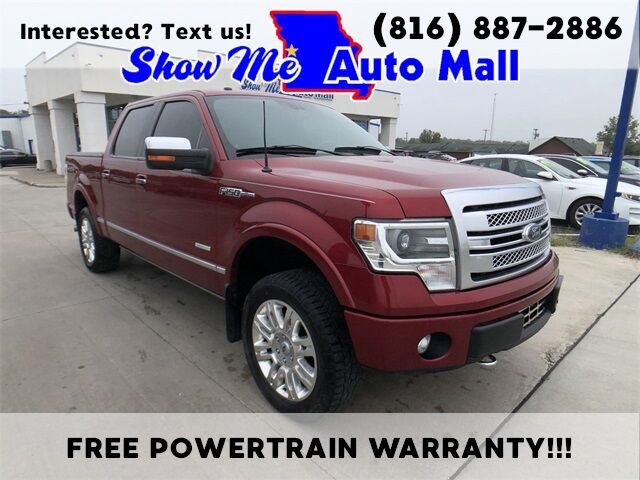 2013 Ford F-150 Platinum Harrisonville MO