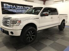 2013_Ford_F-150_Platinum, Leveling Kit, Fuel Wheels, Bed Cover_ Houston TX