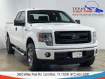 2013 Ford F-150 STX SUPERCAB 4WD AUTOMATIC RUNNING BOARDS ALLOY WHEELS TOW HITCH