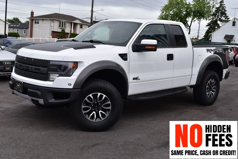 2013 Ford F-150 SVT Raptor 4x4 4dr SuperCab Styleside 5.5 ft. SB Elmont NY