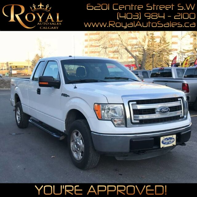 2013_Ford_F-150_SuperCab PWR EVERYTHING, INT PHONE_ Calgary AB
