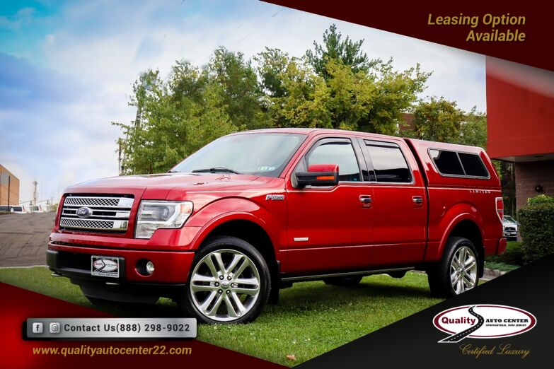 2013 Ford F-150 XL , Navigation, Red Leather Interior Springfield NJ