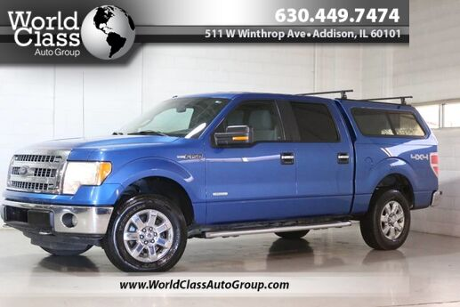 2013 Ford F-150 XLT - AWD BACKUP CAMERA ALLOY WHEELS TONNEAU COVER BLUE TOOTH AUDIO SATELLITE RADIO Chicago IL