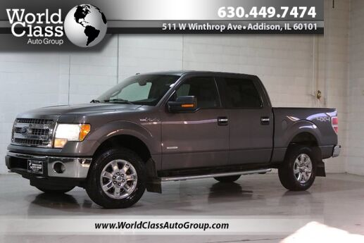 2013 Ford F-150 XLT - AWD CREW CAB BACKUP CAMERA POWER ADJUSTABLE SEATS ALLOY WHEELS Chicago IL