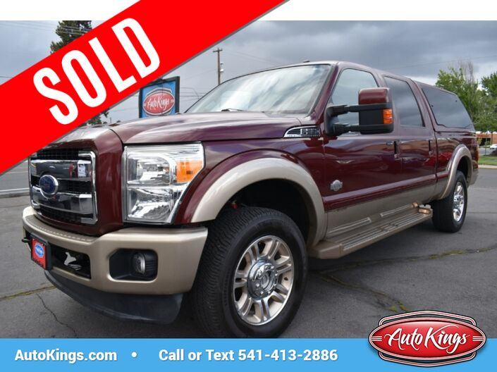 2013 Ford F-250 4WD Crew Cab 156 King Ranch Bend OR