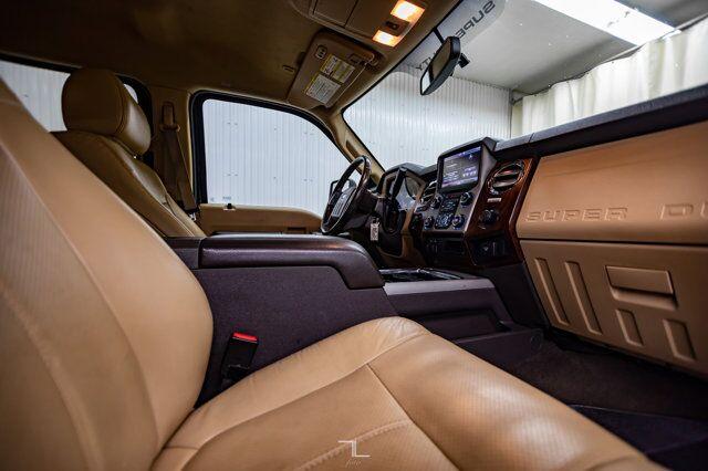 2013 Ford F-250 4x4 Crew Cab Lariat Diesel Leather Nav BCam Red Deer AB