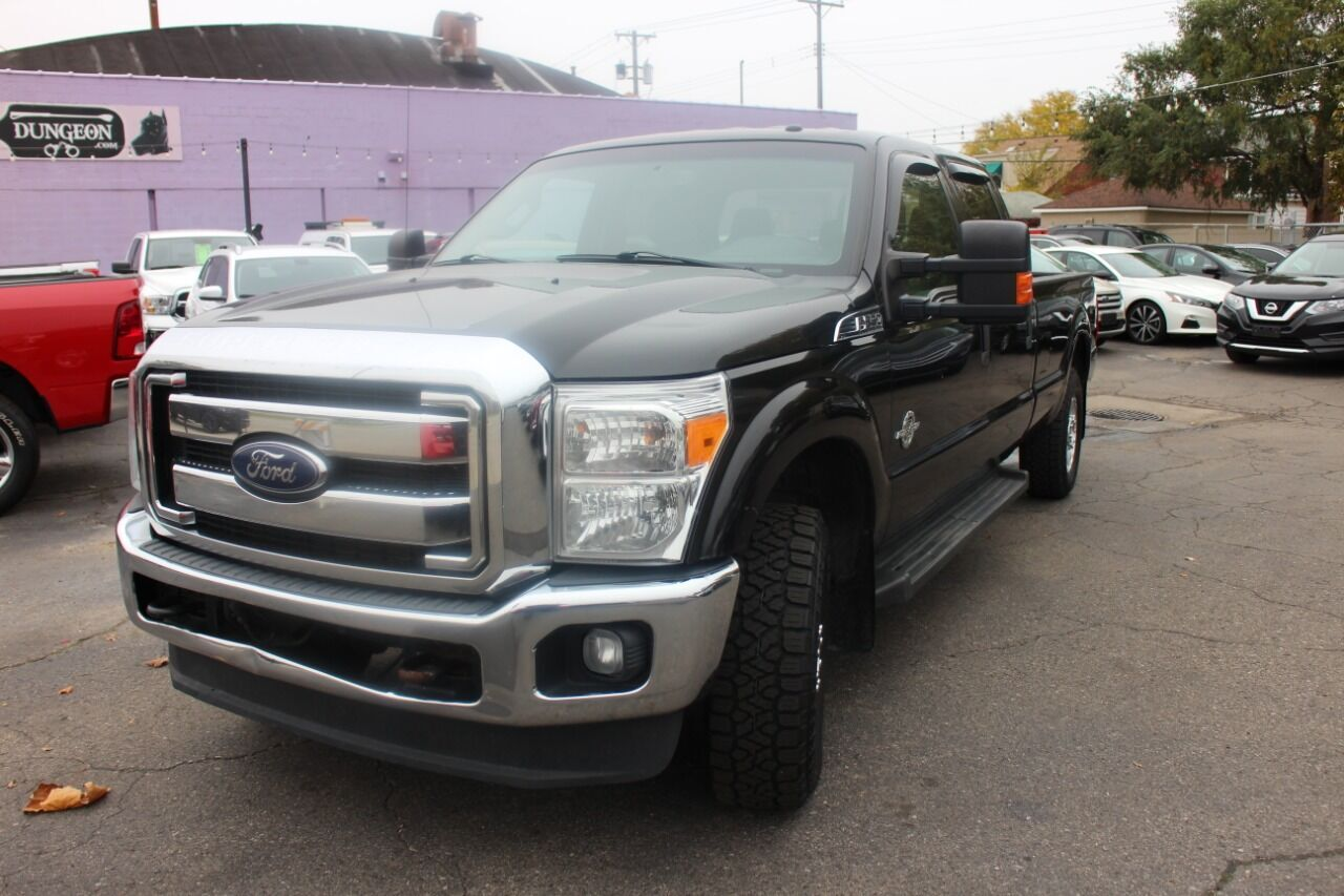 2013 Ford F-250 Super Duty XLT 4x4 4dr Crew Cab 8 ft. LB Pickup Wyandotte MI