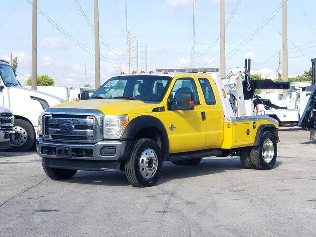 2013 Ford F-550XL SuperCab Jerr-Dan MPL40 Dual Winch Wrecker Miami FL