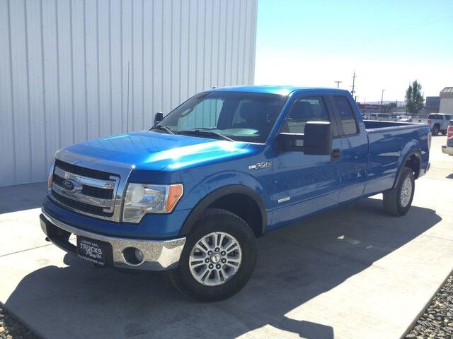 2013 Ford F150 SUPER CAB XLT PICKUP 4D