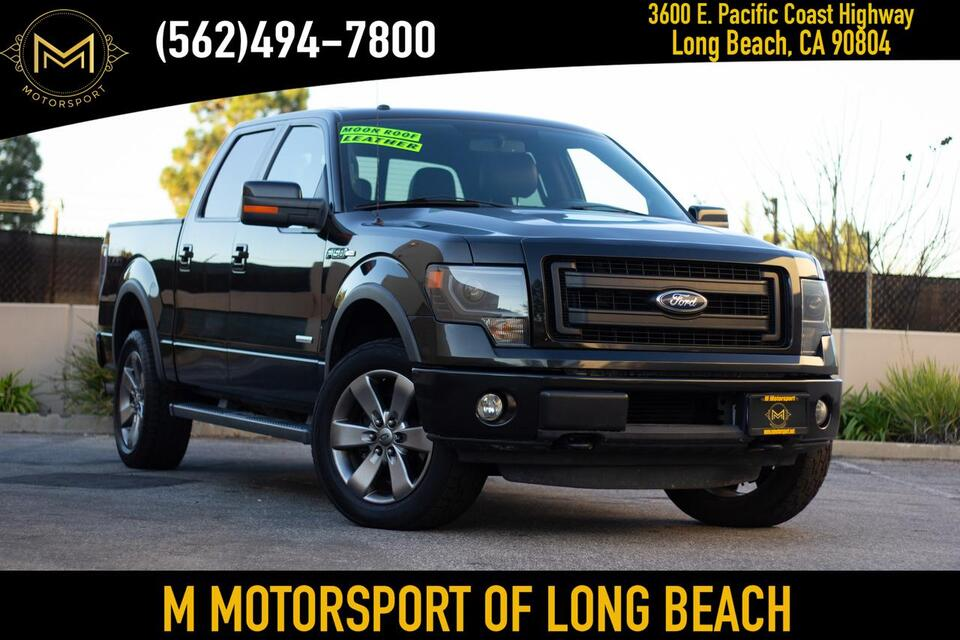 2013_Ford_F150 SuperCrew Cab_FX4 Pickup 4D 6 1/2 ft_ Long Beach CA