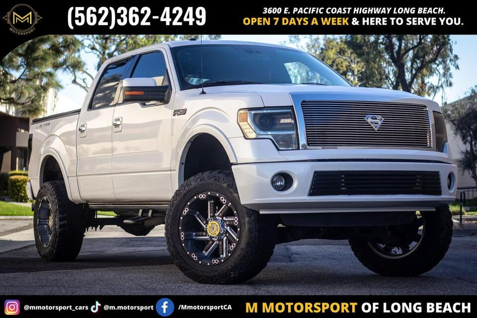2013_Ford_F150 SuperCrew Cab_Limited Pickup 4D 5 1/2 ft_ Long Beach CA