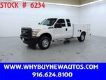 2013 Ford F250 Utility ~ 4x4 ~ Extended Cab ~ Only 72K Miles!