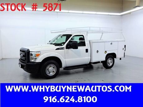 2013 Ford F250 Utility ~ Liftgate ~ Only 62K Miles! Rocklin CA