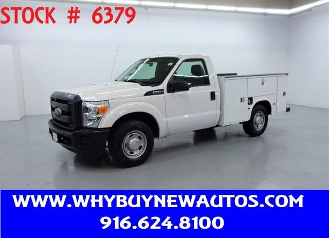 2013 Ford F250 Utility ~ Only 33K Miles! Rocklin CA