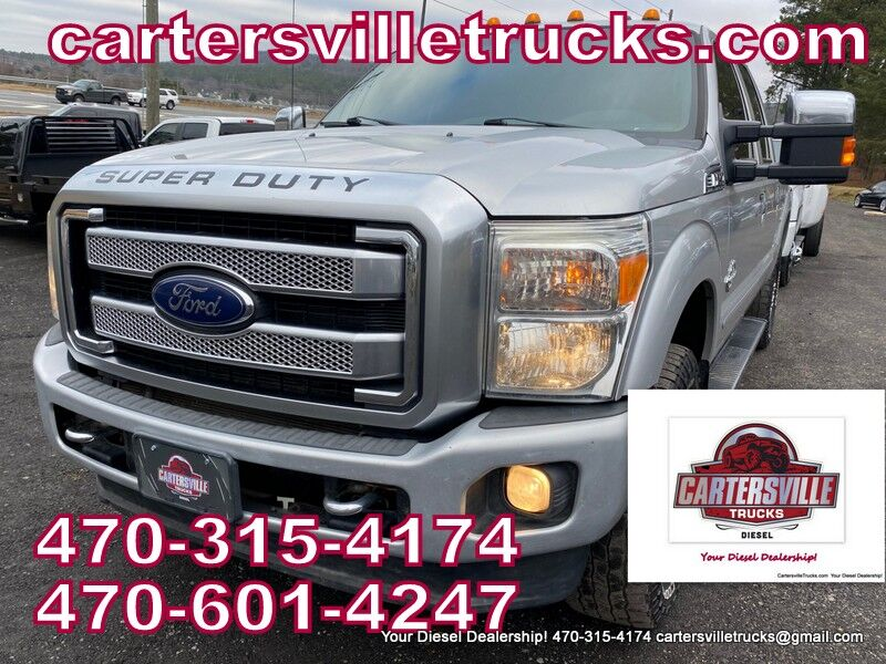 2013 Ford F250sd Platinum Cartersville GA