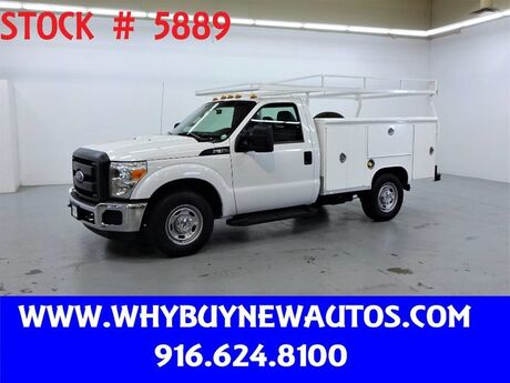 2013 Ford F350 Utility ~ Only 65K Miles! Rocklin CA