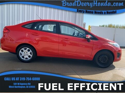 2013_Ford_Fiesta_SE_ West Burlington IA
