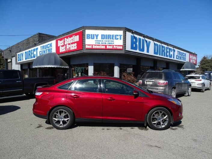 2013 Ford Focus SE Heated Seats, Low KM's, Race Red Kelowna BC