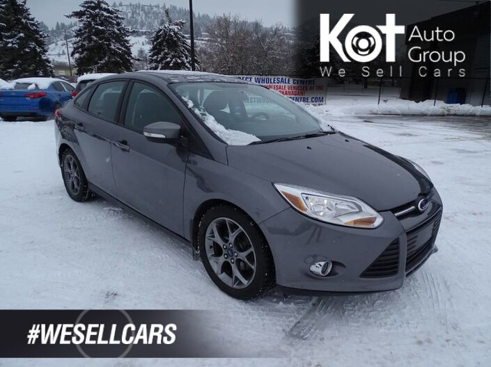 2013 Ford Focus SE, No Accidents! Low KM's, Heated Leather Seats Kelowna BC